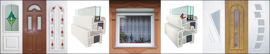 Ajtó-ablak - Műanyag ajtó és ablak. Gealan ablak, 6 légkamrás ablak, 7 légkamrás ablak, műanyag bejárati ajtó