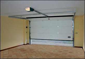 Egy DITEC garázskapu belső oldala is esztétikus